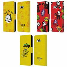 Official Felix The Cat Comic Book Capers Leather Book Case For Htc Phones 1