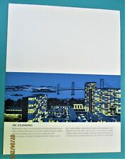 CARLOS DINIS  SAN FRANCISCO ARCHITECT FOLDER LARGE SERIGRAPHS CITY DESIGNS