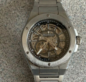 Rare Dreyfus & Co Switzerland No39 Seafarer Standard 21 Jewels skeleton watch