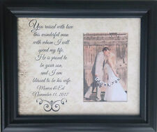 Wedding To My Mother in Law on My  Wedding Day personalized Gift Bride