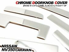 JDM NEW NISSAN NV350 CARAVAN VAN Chrome Plated Door Handle Cover F/S