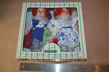 Porcelain Doll, Seymour Mann, Brother and Sister Clowns #1559
