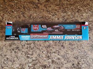 2020 Nascar Authentics Jimmie Johnson #48 Ally 7x Champion Throwback 1/64 Truck