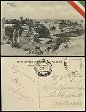 cartolina militare BENGASI paesaggio
