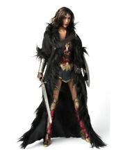 "VSTOYS 1/6 Girl Black Wonder Woman Cloak Model Fit 12"" Female Action Figure"