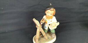 Tolle alte Friedel Figur Nr. 3 Maler mit Staffelei