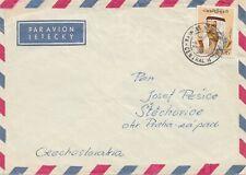 Kuwait: 1972 via Air Mail to Stochovice, Czech