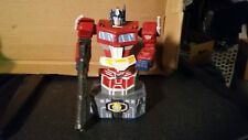 Rare Transformers G1 Optimus Prime Bust Diamond Select 318/1500 WITH ISSUES