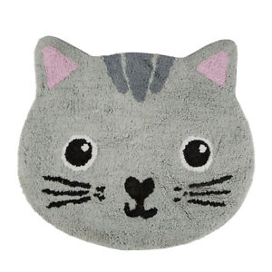 SASS & BELLE Rug Nori Cat Kawaii Friends Cotton Kids Bedroom Nursey Pet