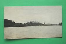 Schleswig Holstein Foto Plön 1916 Schloss Ortsansicht See Kirchturm Gebäude +++