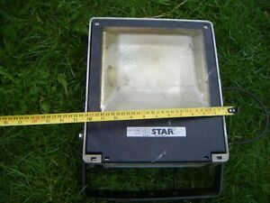 External Floodlight Son Star SON-T 75Watt SON complete with lamp