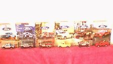 Matchbox - Ford Series - Set of 6 Models - Mint on Cards