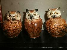 Lot of 3 Goebel Owls
