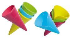 spielstabil Eistüte Sandform Kaufladen Eis Tüte 7412 FarbeForm sortiert 1 Stück