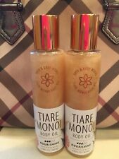 Bath and Body Works Tiare Monoi Body Oil - Lot of 2 - No Longer Available!