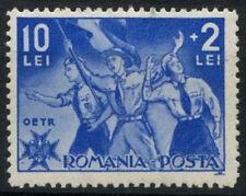 Romania 1935 SG#1309, 10L Scouts, Colour Party MH #D1603