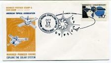 1975 Midwest Postage Stamp Coin Show Mariner Pioneer Viking Solar System USA SAT