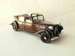 Solido - 1:18 - Citroen Traction 11 Decouvrable 1938