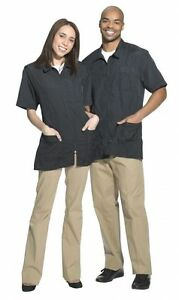 Betty Dain Nylon Barber Jacket,Salon, 894 4X Gray Water resistant, pockets