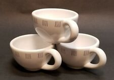 Lot of 3 Blue Sky Clayworks Espresso Cappuccino Cups *Discontinued* dated 2003