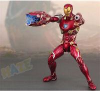 "SHF S.H.Figuarts Marvel Avengers Infinity War 6"" Iron Man MK50 PVC Figure FUN"
