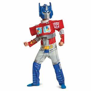 Disguise Transformers Optimus Prime Boys 2-Piece Light-up Halloween Costume: S-M