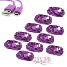 10X 3FT MICRO USB DATA SYNC CHARGER CABLE PURPLE NOKIA LUMIA 1020 LG OPTIMUS G2