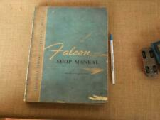Collectable 1960'S   XK, KL  FORD FALCON WORKSHOP MANUAL  AUSTRALIA