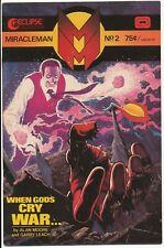 "Eclipse Miracleman No. #2 Alan Moore Garry Leach 1985 modern classic comic ""Key"""