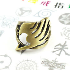 Anime Fairy tail Natsu Dragneel Guild Ring  Pendant Chain Adjustable bronze