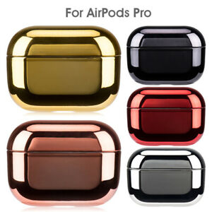 For Apple AirPods Pro AirPods 3 2 1 Luxury Plating Case Cover Hard Earphone Skin