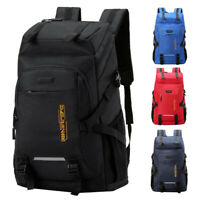 50L Travel Backpack Hiking Camping Outdoor Sports Bag Laptop Daypack 840D Oxford