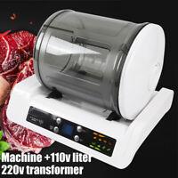 Electric Vacuum Food Marinator Tumbling Tumbler Pickling Processor Tool US SHIP