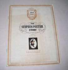 The Stephen Foster Story by Paul Green 23rd Season Program Bardstown Kentucky