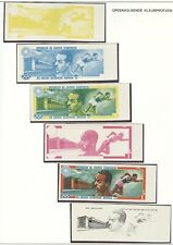 Equatorial Guinea Olympische Spiele Olympic Games 1972 42 winners proofs