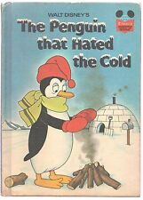 Disney's Wonderful World of Reading Book THE PENGUIN THAT HATED THE COLD 1st Ed