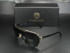 VERSACE VE2140 100287 Gold Gray 40 mm Men's Sunglasses