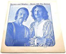 Brewer Shipley Shake Off The Demon LP Vinyl Album Record Kama Sutra KSBS 2039