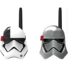 Disney Star Wars Last Jedi Walkie Talkies Static Free Extended Range SW-202 NIP