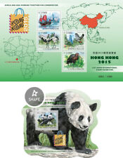 Pandas Bears Bären Stamps Hong Kong Fauna Sao Tome and Principe MNH stamp set