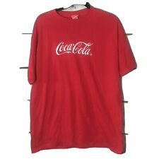 Vintage Coca Cola Embroidered T-Shirt Xl Made In The Usa