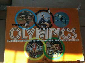 Capri Olympics Board Game Vintage