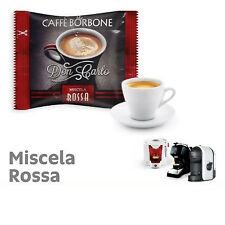 ROSSA  (Red) Blend 100 Don Carlo coffee capsules compatibile with A Modo Mio by
