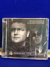 NEW SEALED damaged case Claudio Filippini - Through the Journey (2012) Jazz CD