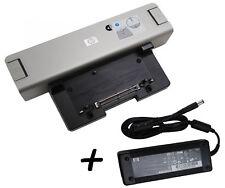 HP Dockingstation HSTNN-I09X mit 120 Watt Netzteil für Elitebook Probook Serie