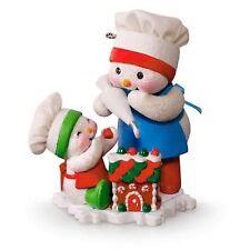 Hallmark 2016 Making Memories 9th Frosting Friends Snowman Keepsake Ornament