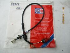 QCC1567 New Quinton Hazell Clutch Cable to fit Nissan Sunny 2.0i GTi 1992-1995