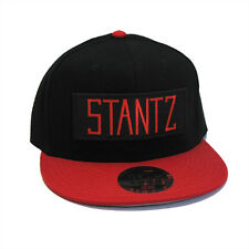 Ghostbusters Stantz Name Tag Patch Flat Bill Red Black SNAPBACK Cap Hat - SZ07