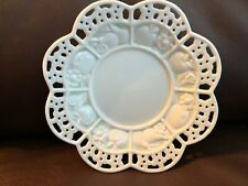 Vintage 1970s Avon Collector Plate: Reticulated Decorative Dish with Fruit Motif