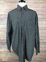 Men's Nautica Striped Long Sleeve Button Front Shirt, Size XXL